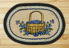 Blueberry Basket Printed Swatch