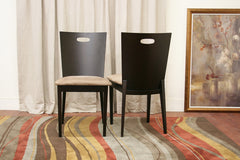 Baxton Studio Lamar Dining Chair in Set of 2