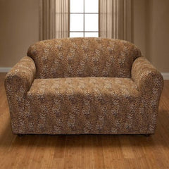 Leopard Jersey Sofa Stretch Slipcover