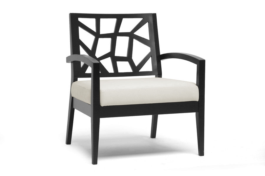 Baxton Studio Jennifer Wooden Modern Lounge Chair