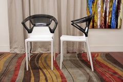 Baxton Studio Swap Dining Chair in Set of 2