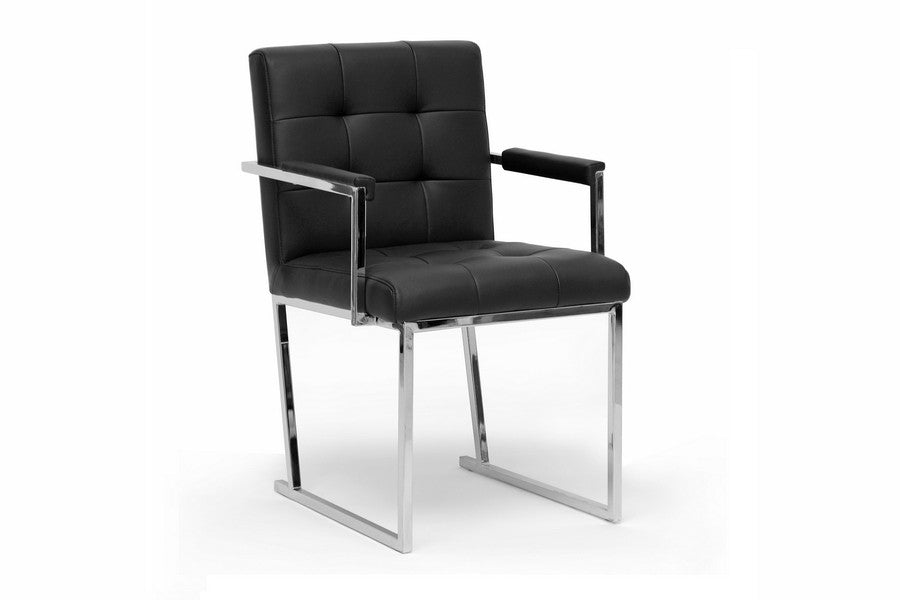 Baxton Studio Collins Mid-Century Modern Accent Chair