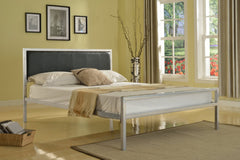 Amazing Anzy Iron Platform Bed with Slats In Different Sizes