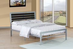Anzy Iron Platform Bed with Slats In Different Sizes
