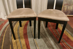 Baxton Studio Magness Dining Chair in Set of 2