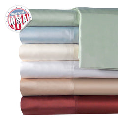 500TC QUEEN SOLID SHEET SET IN IVORY