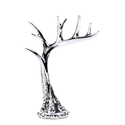 Silver Antler Jewelry Holder