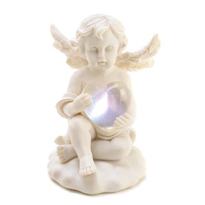 Love' Glow Cupid Figurine