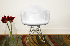 Baxton Studio Lia Eiffel Arm Chair
