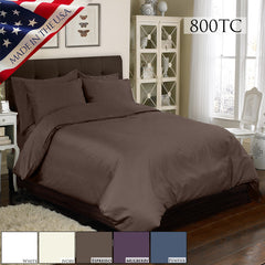 800TC 4 PC DUVET SET IN DIFFERENT COLORS