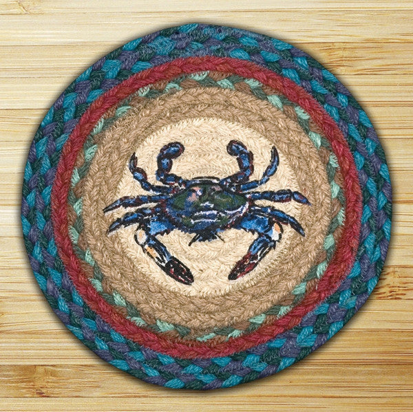 Blue Crab Printed Swatch