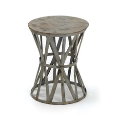 Metal Raquel Stool