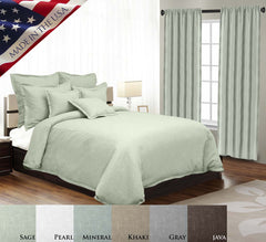 GOTHAM LINEN DUVET SET IN DIFFERENT COLORS AND SIZES