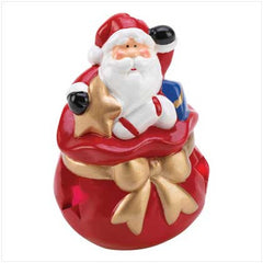 Mini Santa Light Up Figurine
