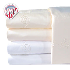 1200TC SWIRL PILLOWCASE PAIR IN DIFFERENT COLOS AND SIZES