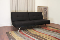 Baxton Studio Ewing Modern Futon Sleeper Sofa Bed