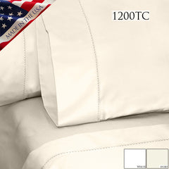 BELLA 1200TC PILLOWCASE PAIR IN DIFFERENT COLORS AND SIZES