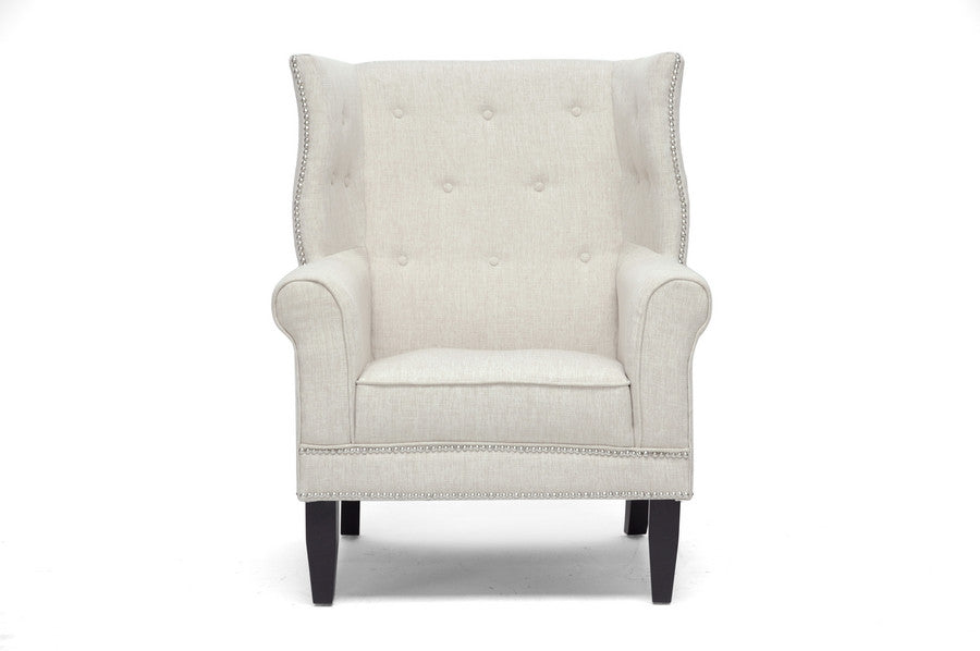 Baxton Studio Kyleigh Modern Arm Chair