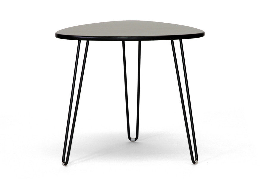 Baxton Studio Leto Dark Brown Modern Accent Table