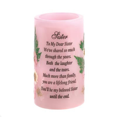 """Sister"" Heartnotes Candle"