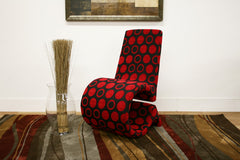 Baxton Studio Fabric Accent Chair