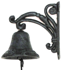 Beautiful Cast Iron Vine Bell
