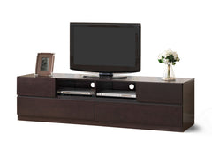 Baxton Studio Lovato Dark brown TV Stand