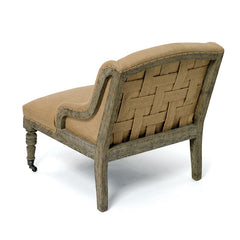 Oak Frame Nelson Chair
