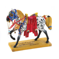 Trail Of Painted Ponies Runs The Bitterroot Figurine