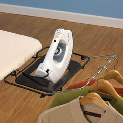 Bamboo-Leg Wide Top Ironing Board