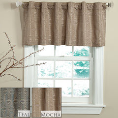 CIRCUIT ROD POCKET VALANCE IN DIFFERENT COLORS
