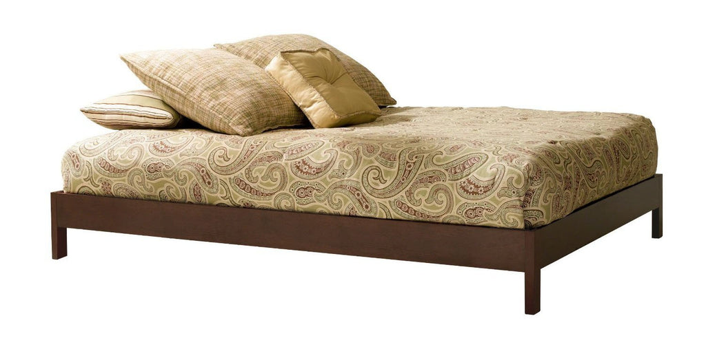 Fashion Bed Murray Platform Bed Frame In Queen Size - No Box Spring Required