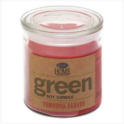 Turning Leaves Soy Candle