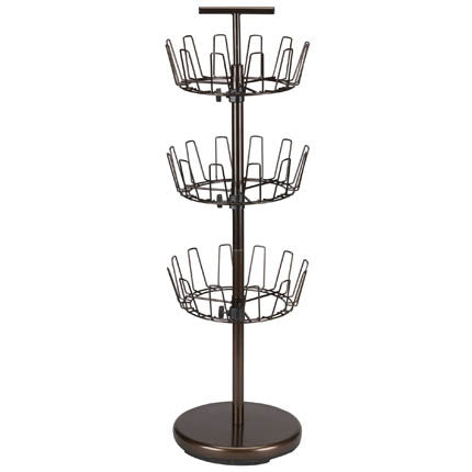 Modern 3-Tier Revolving Shoe Tree