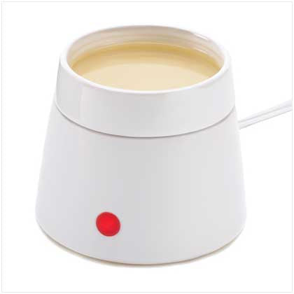 White Electric Oil Warmer