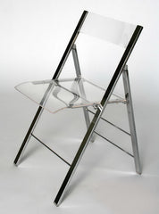 Baxton Studio Acrylic Foldable Chair