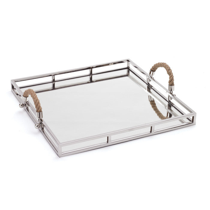 Polished Nickel Squire Tray