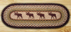 Moose Oval Patch Runner In Different Sizes