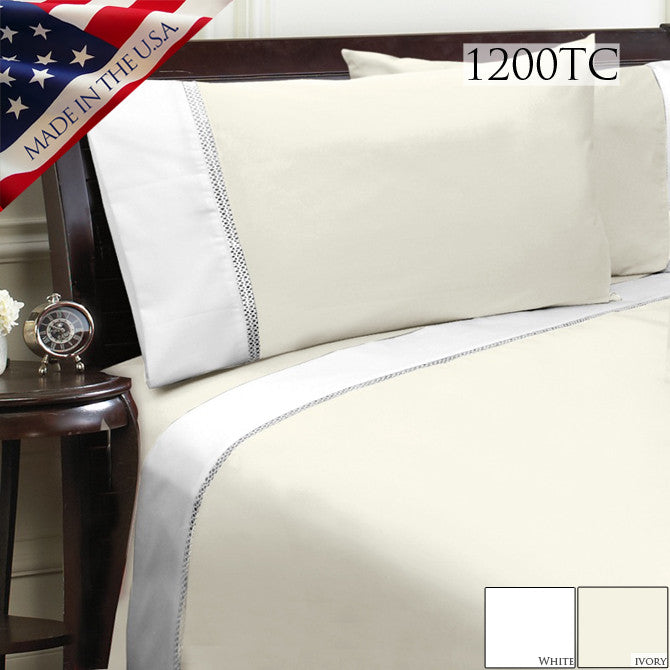 DUET 1200TC SHEET SET IN DIFFERENT COLORS AND SIZES