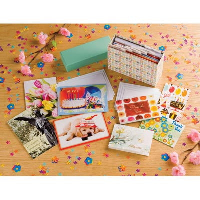Stationery Box With Cards