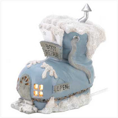 Snow Buddies Boot Repair Shop Figurine
