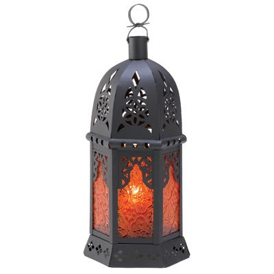 Topaz Moroccan Candle Lantern