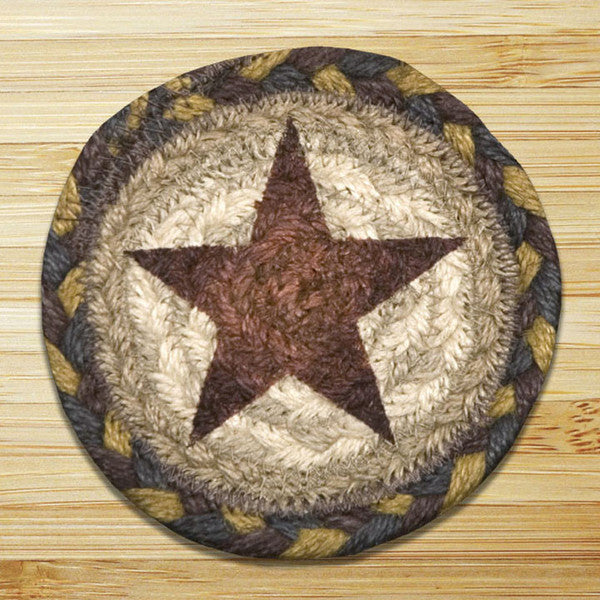 Gold Star Individual Coaster