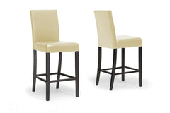 Baxton Studio Torino Modern Bar Stool in Set of 2