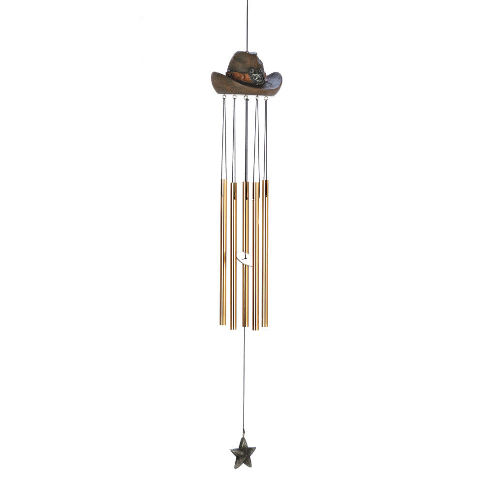 Cowboy Hat Windchime