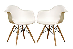 Baxton Studio Pascal plastic Shell Chair