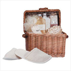 Honey Vanilla Spa-In-A-Basket Gift Set