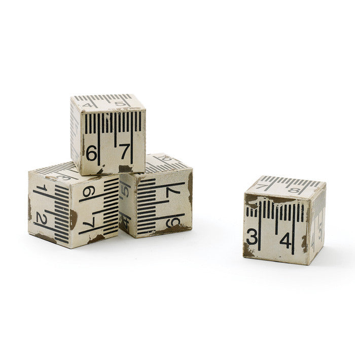 Set of Four Tape Measure Block