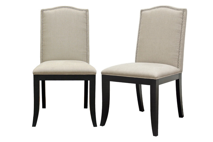 Baxton Studio Baudette Dining Chair in Set of 2