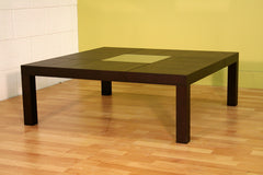 Baxton Studio Vicq large oak coffee table